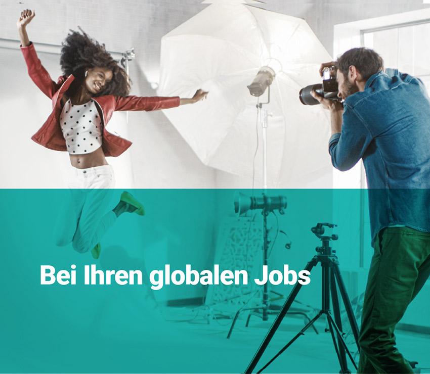 Ihre globalen Jobs