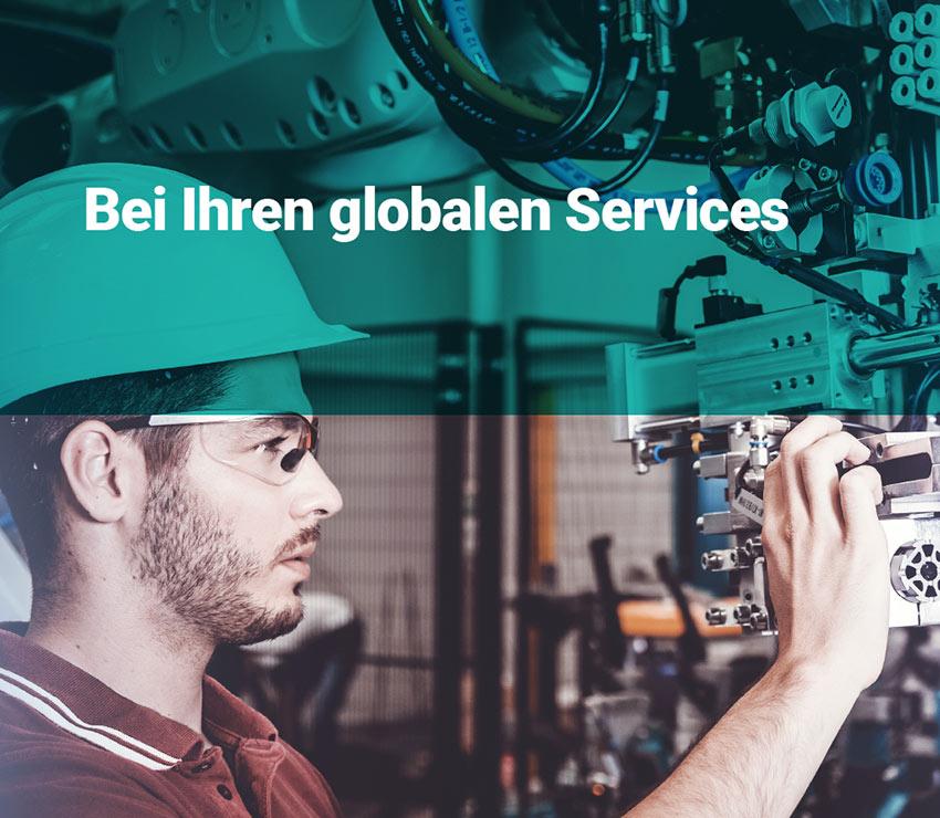 Ihre globalen Services